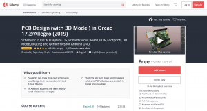 PCD Designing in 3D Free udemy Course