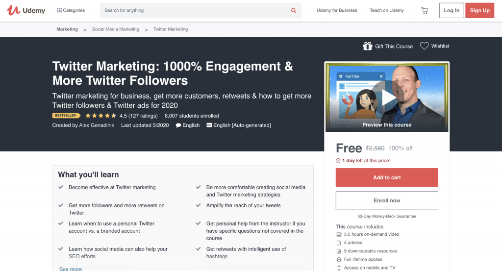 Twitter Marketing: 1000% Engagement & More Twitter Followers